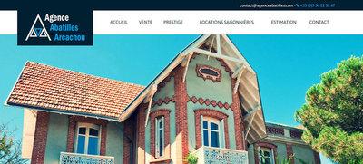 Referencement site immobilier - Bordeaux (Abatilles)