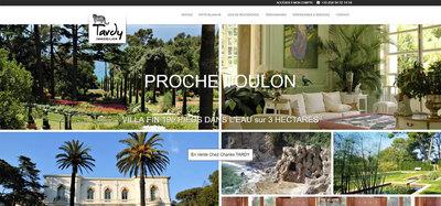 Création site immobilier - Référencement à Saint Cyr sur Mer (Tardy Immobilier)